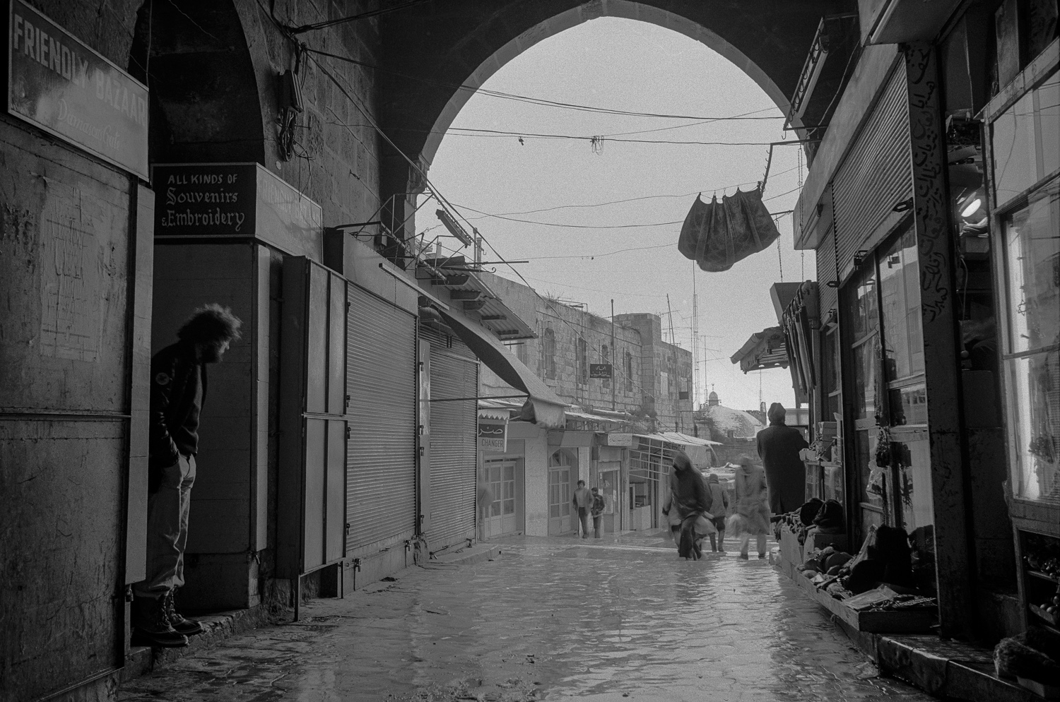 Rain - Damascus Gate, Jerusalem, 1976
