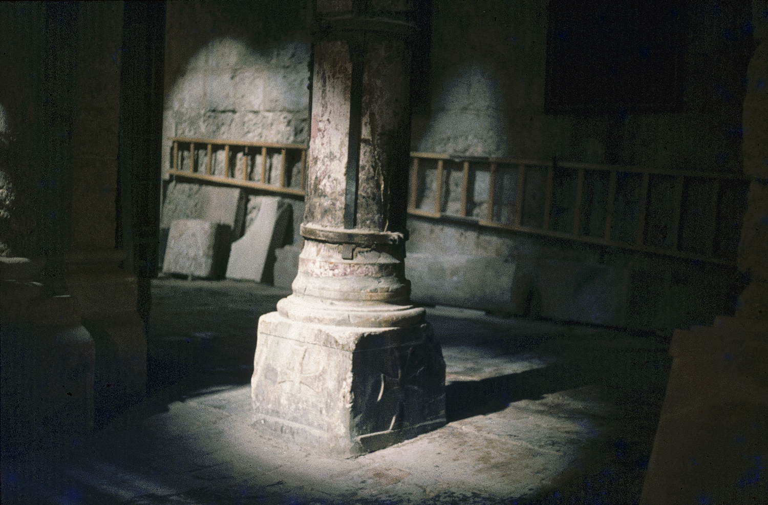 Church of the Holy Sepulchre, Jerusalem, 1981