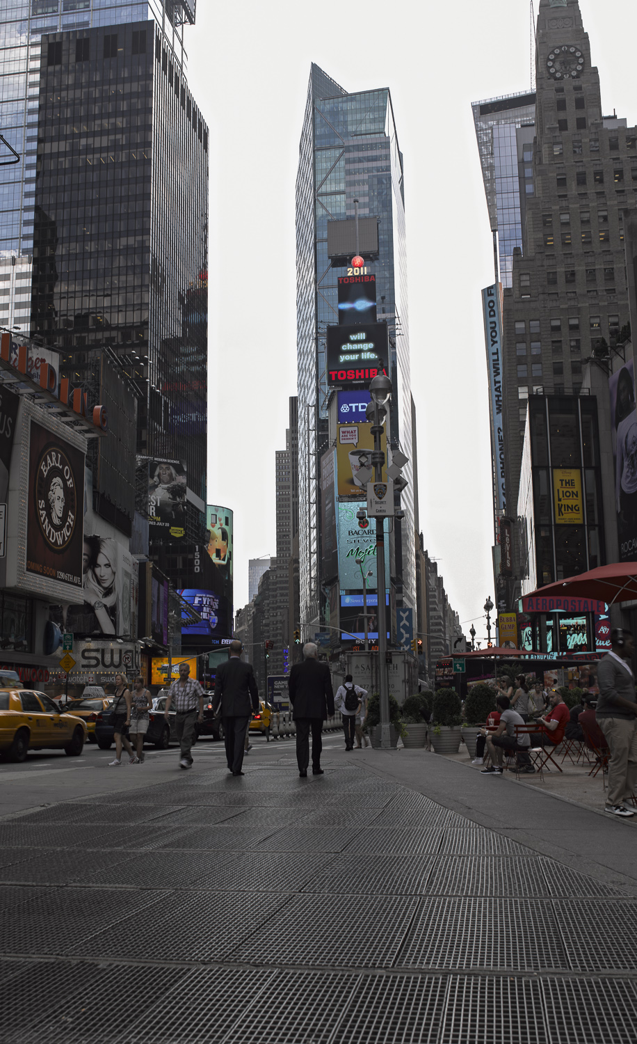 Times Square - New York City, 2011