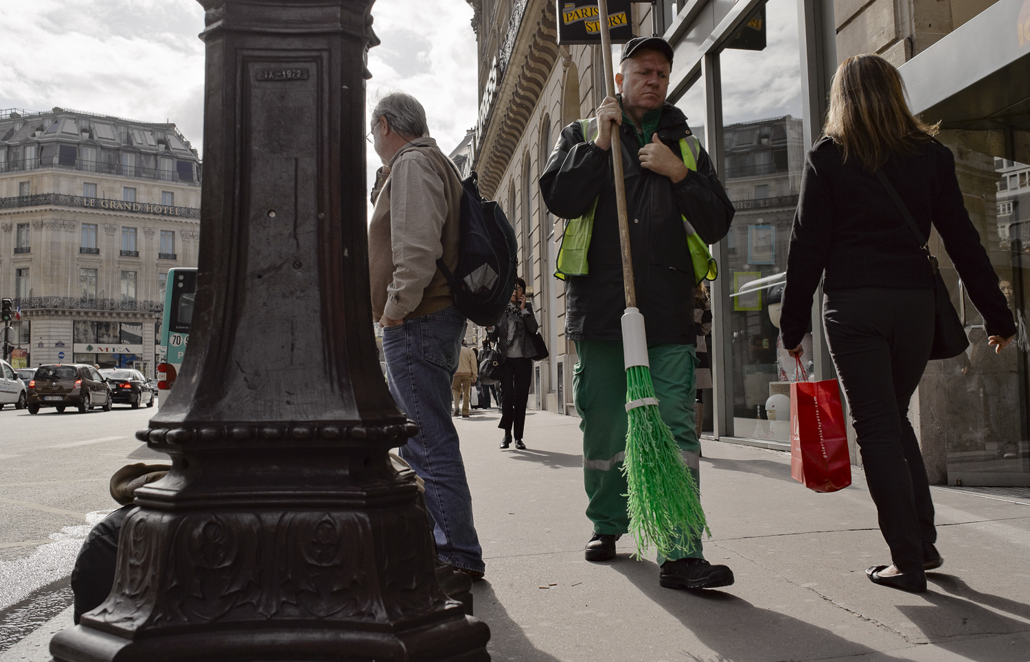 Green and Red -  Paris, 2011