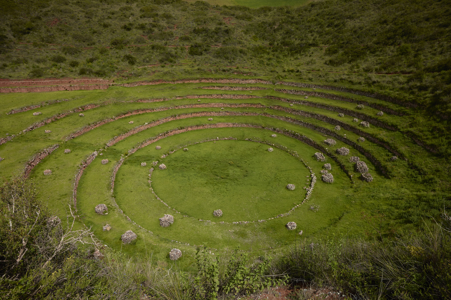 Terraces - Maras, Sacred Valley, February 2016