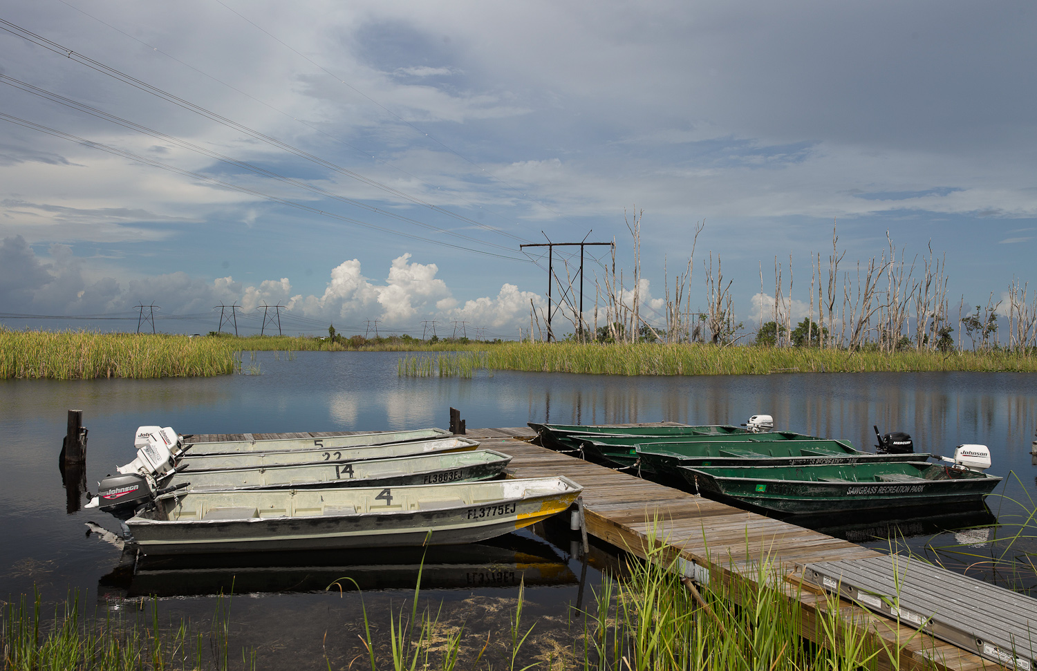 Boats - Everglades, Florida, 2007