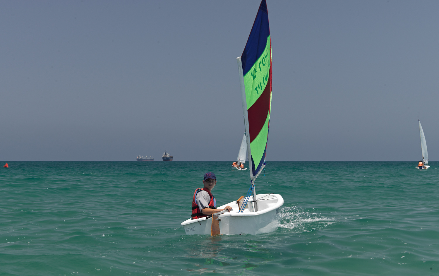 Sailboat - Ashdod, 2012