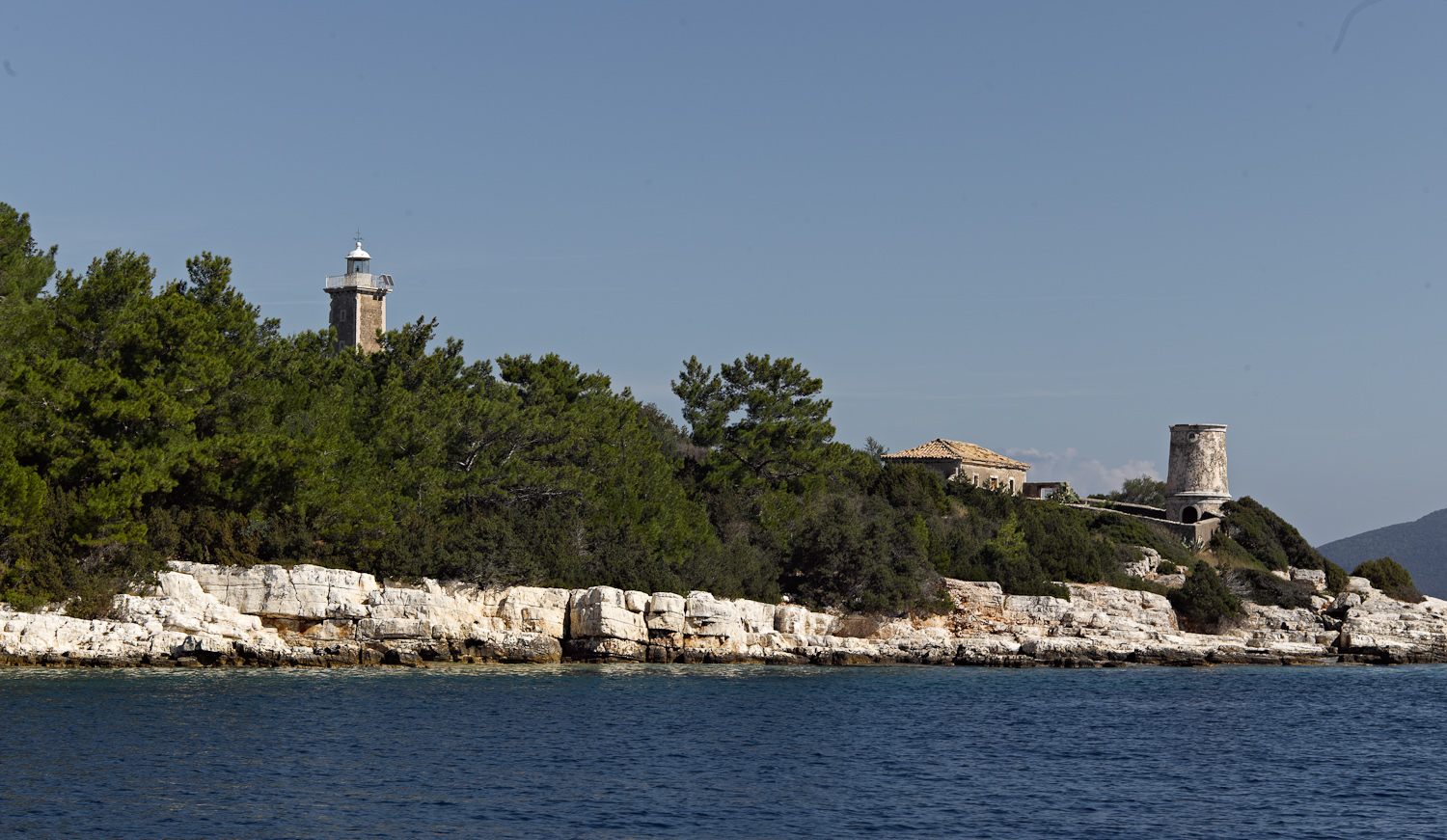 Fiskardo lighthouse - Cephalonia, 2012