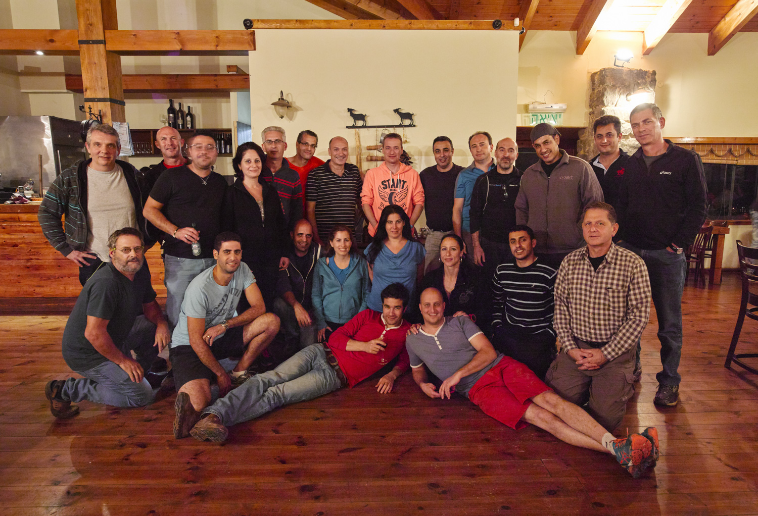 Group - Kfar Charuv, November 2015