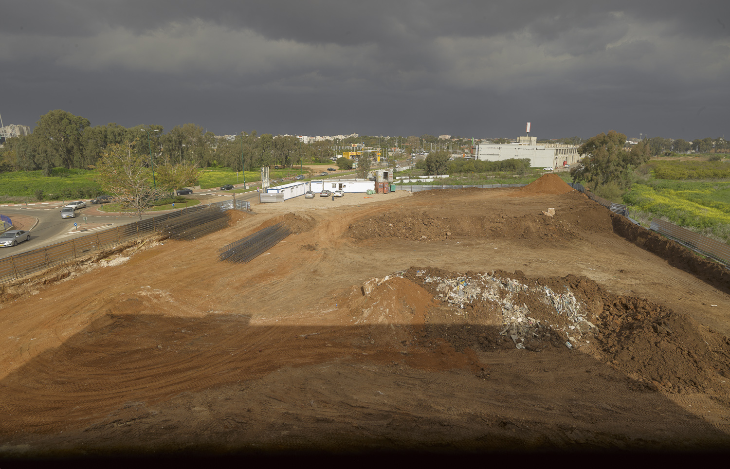 Construction site - Kfar Saba, 2011